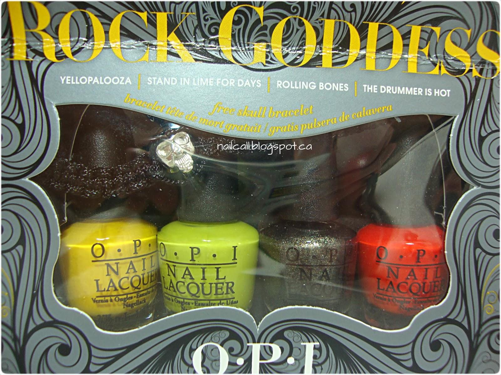 OPI Rock Goddess box set