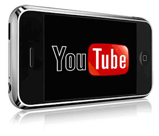 Mobile Youtube Application, youtube logo