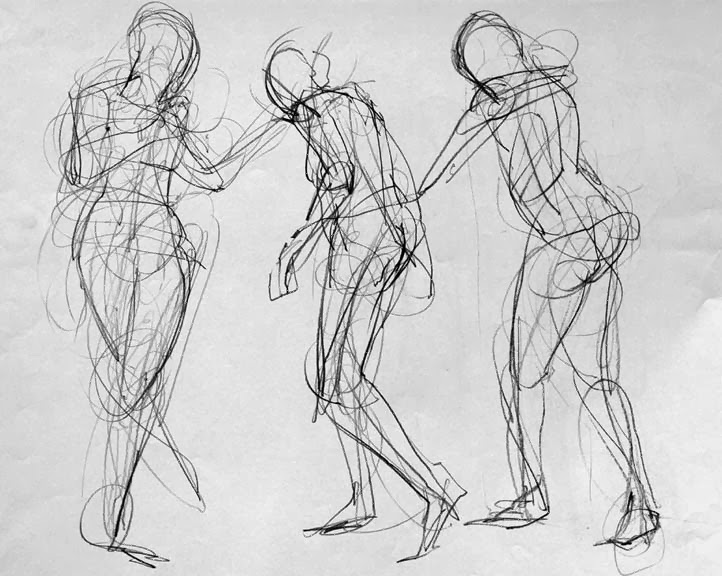 Montana Art Teacher: Figure Drawing Lessons | Middle School