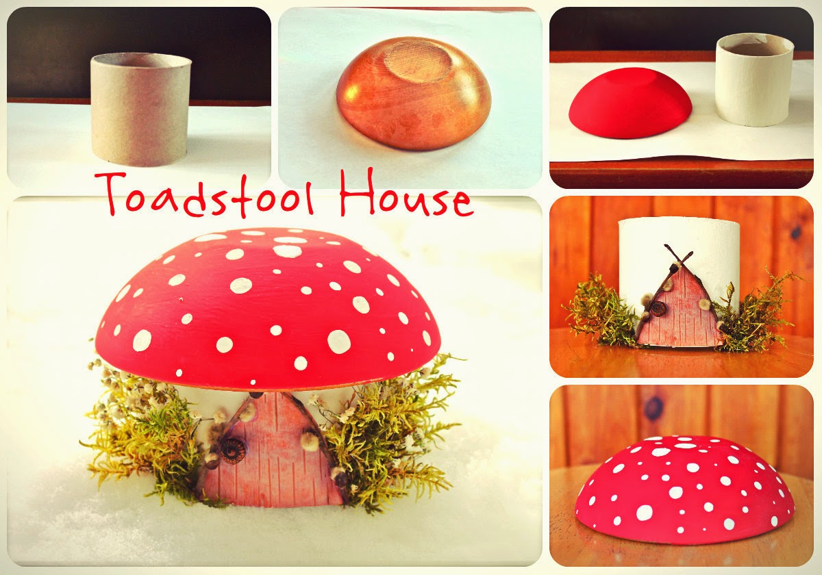 Twig And Toadstool Toadstool Fairy House