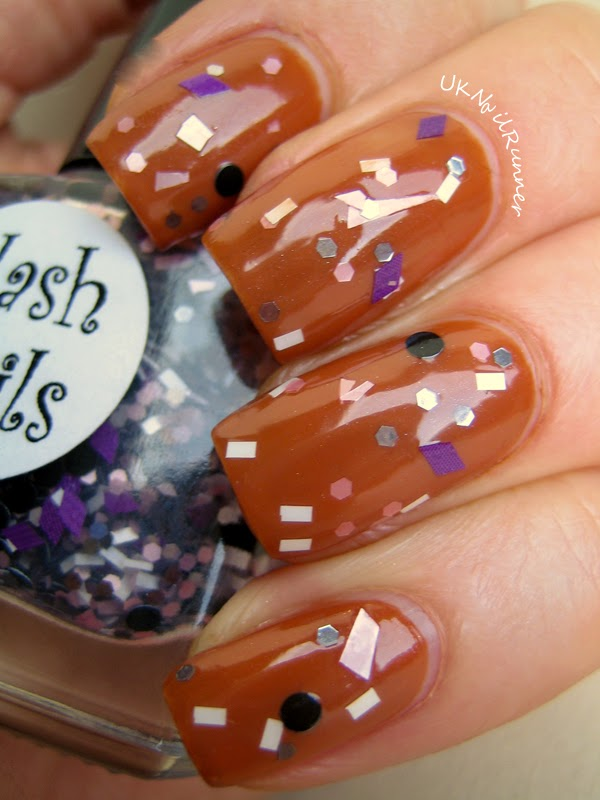 Flash Nails Princess with OPI & Apple Pie