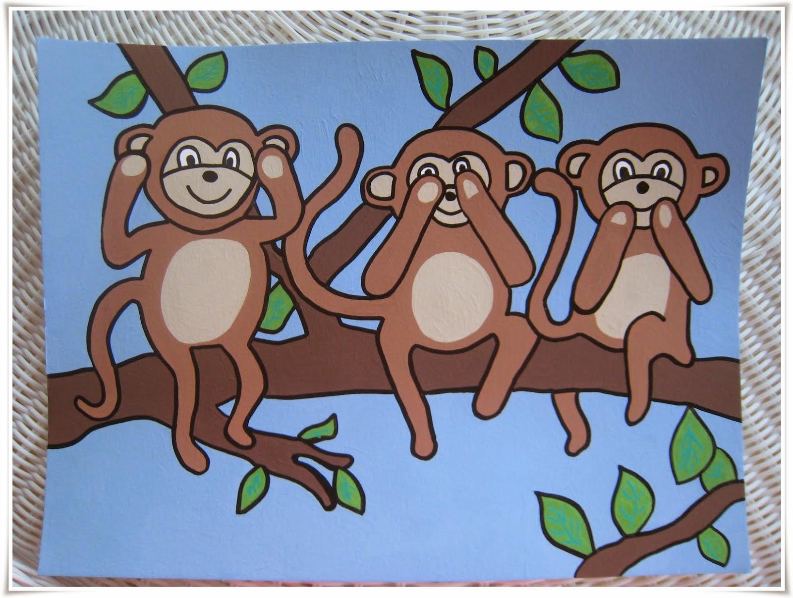 monkey cartoon wallpaper