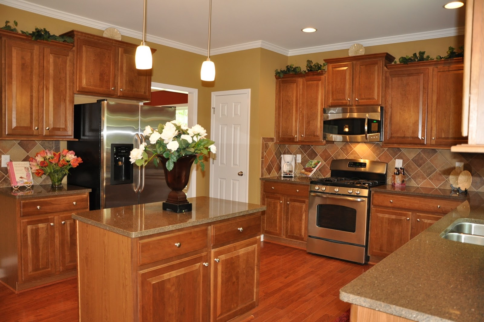 Blog february 2011 for Model home kitchens