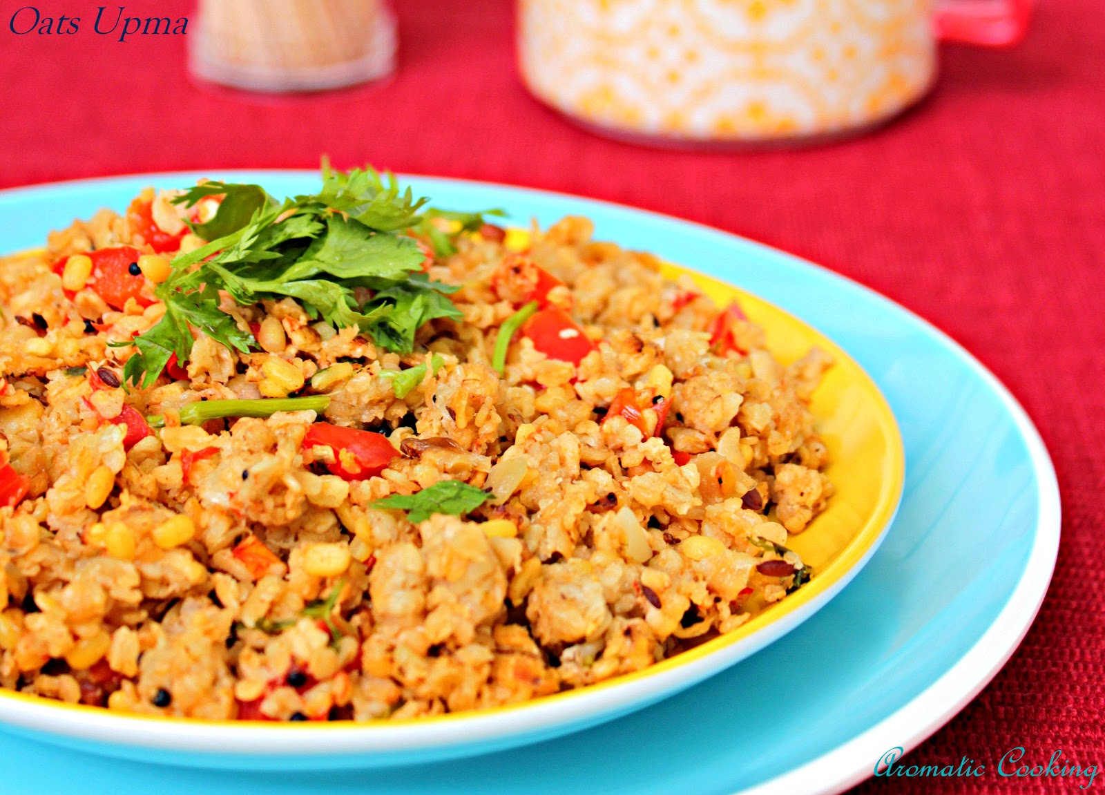 how to prepare upma with oats