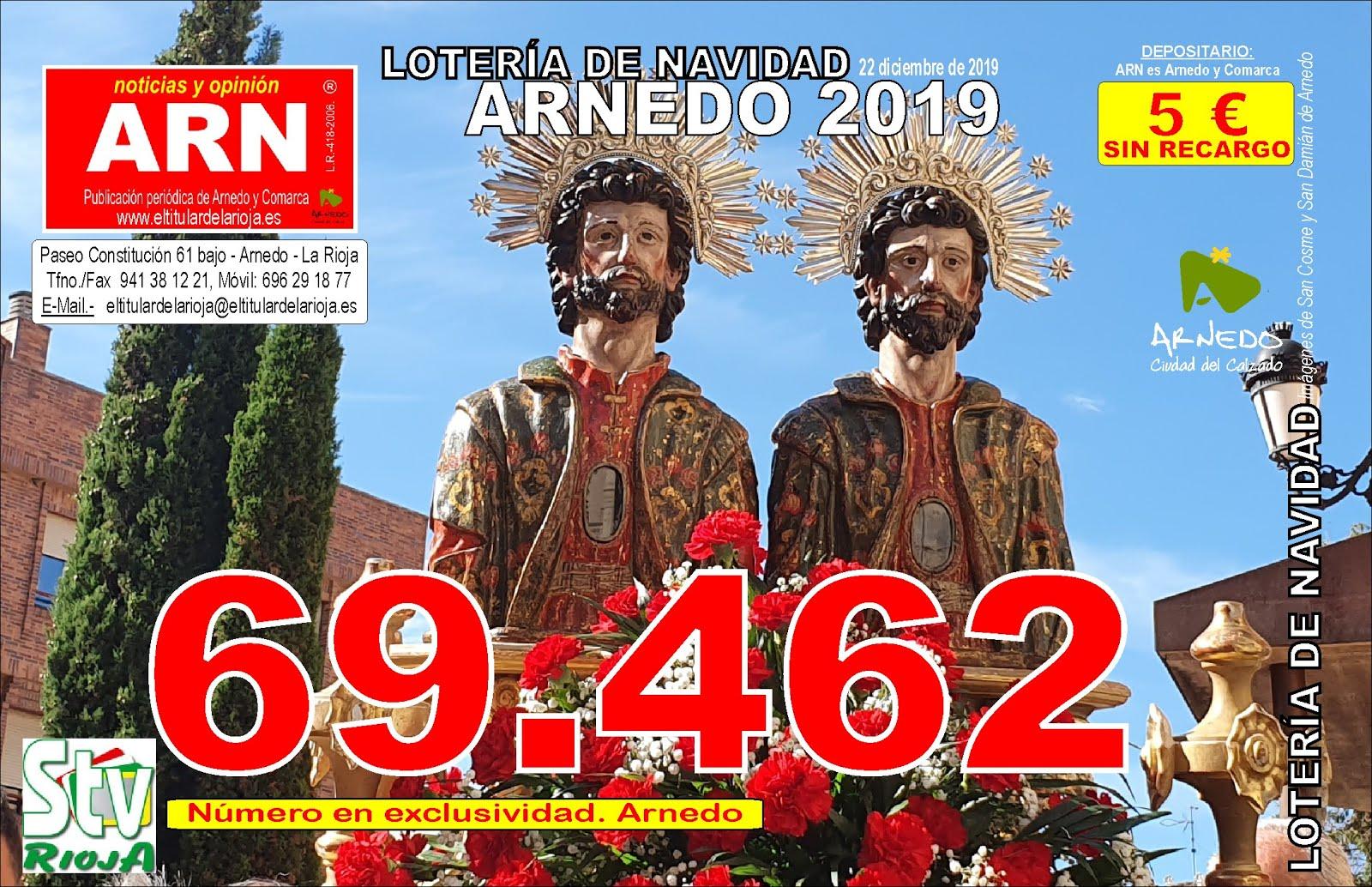 69462 SuerteRioja Lotería de Navidad