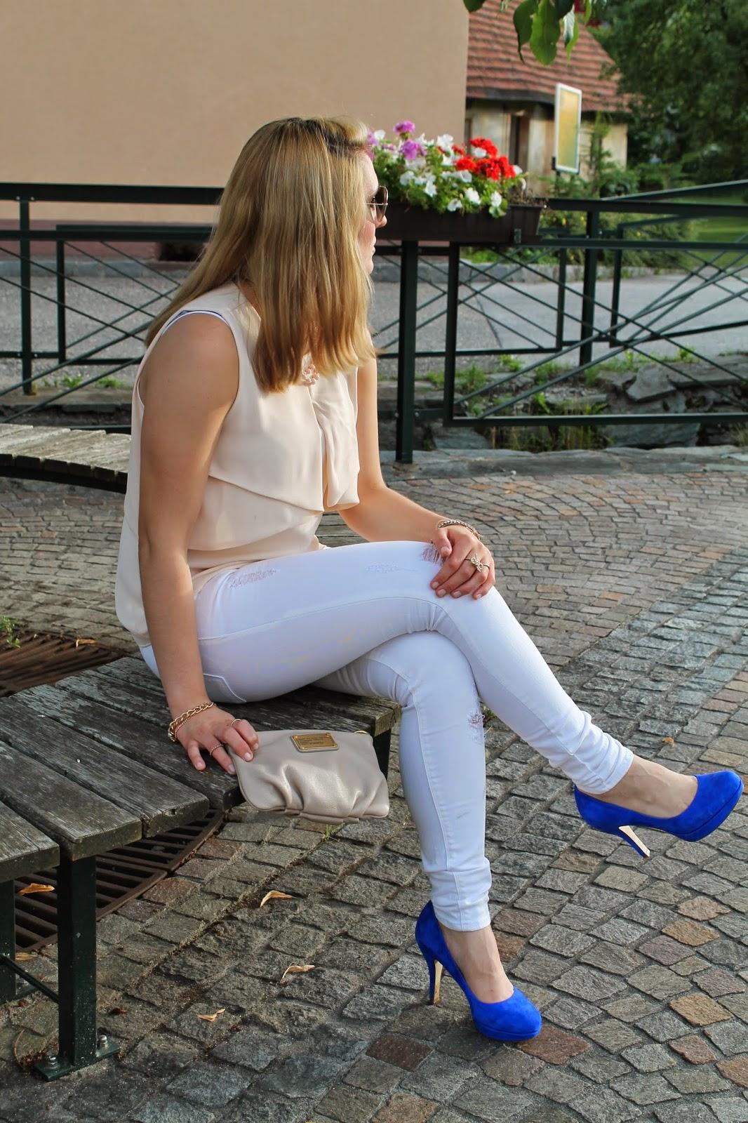 Fashionblogger Austria / Österreich / Deutsch / German / Kärnten / Carinthia / Klagenfurt / Köttmannsdorf / Spring Look / Classy / Edgy / Summer / Summer Style 2014 / Summer Look / Fashionista Look / Mango / Deichmann / Marc by Marc Jacobs / Forever 18 / Ray Ban / DM / H&M / Zara /