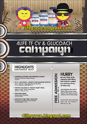 4Life TF CV &amp; GluCoach Campaign Roadshow