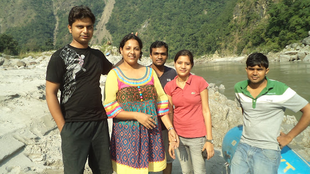 Enjoy holiday in Risikesh