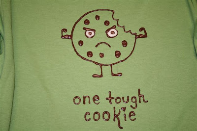 One tough cookie T-shirt design