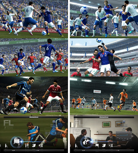 New PES 2012 Screens