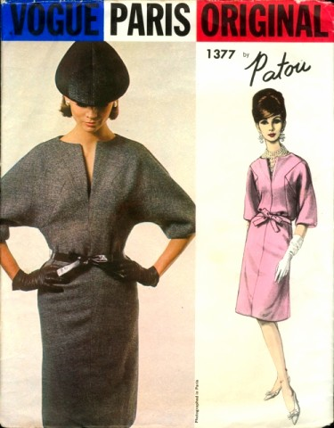How Much Did That Sell For?!?: Vogue Paris Original 1377 Sewing ...