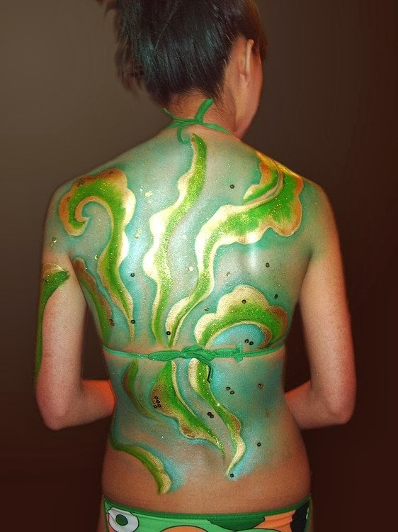 Best body painting art body painting pics model for Best body paint pics