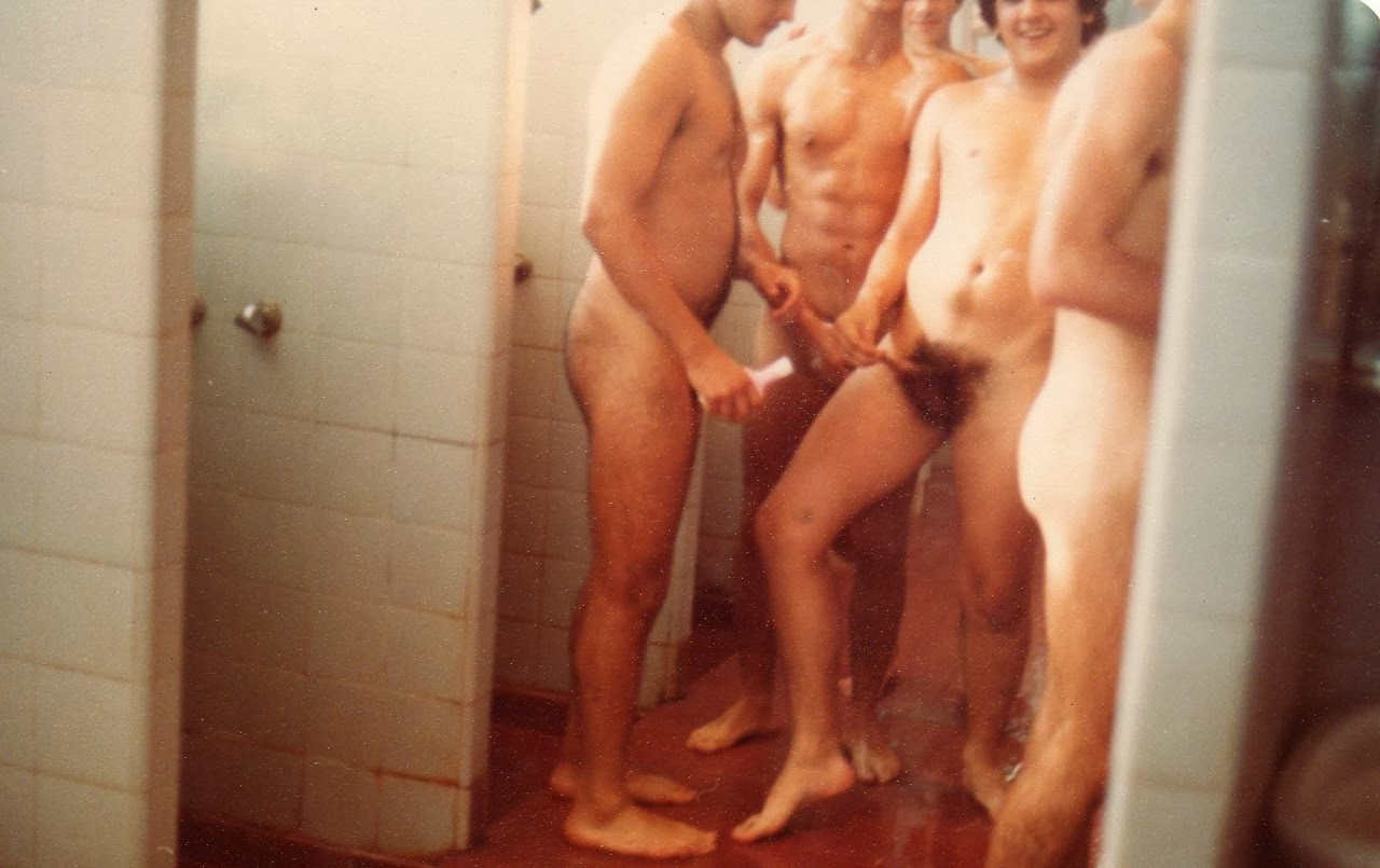 Mine the changing room showers naked