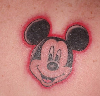 Micky Mouse Tattoo Photo Gallery - Micky Mouse Tattoo Ideas