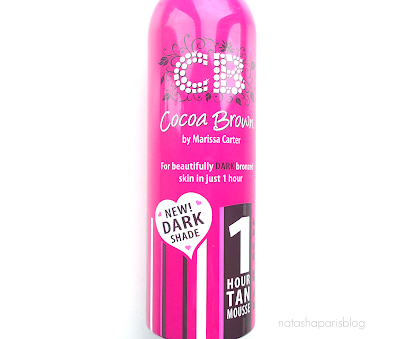Cocoa Brown 1 Hour Dark Tan Mousse