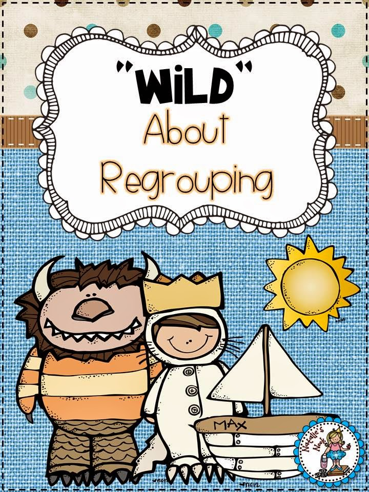 http://www.teacherspayteachers.com/Product/Wild-About-Regrouping-Addition-and-Subtraction-5-Math-Centers-224453
