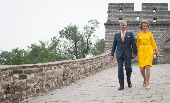 Queen Mathilde And King Philippe's Visit To China, Day-3