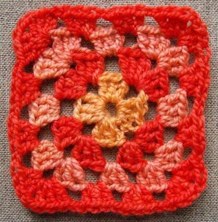1286 cuadraditos de ganchillo labores en red - Cuadraditos de crochet ...