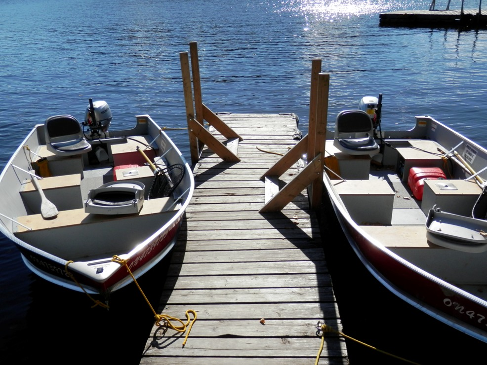 bow narrows c on lake ontario the best way to tie a boat to a dock