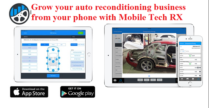 A Tech's #1 Auto Recon App / Upgrade Your Business With One Click