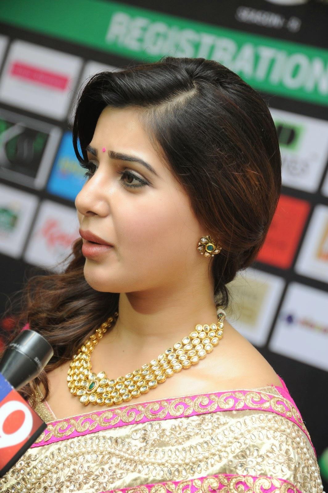 Samantha gorgeous photos in saree-HQ-Photo-5