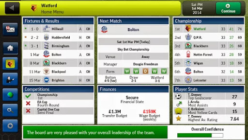 Football Manager Handheld 2014 v5.3 Android Apk