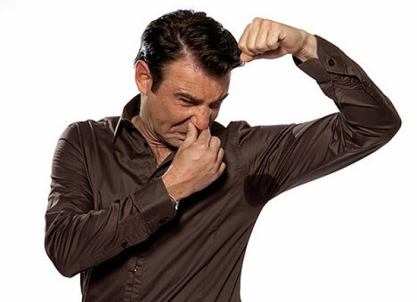 armpit bad odour