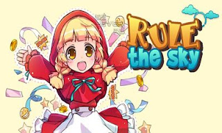 Screenshots of the Rule the Sky for Android tablet, phone.