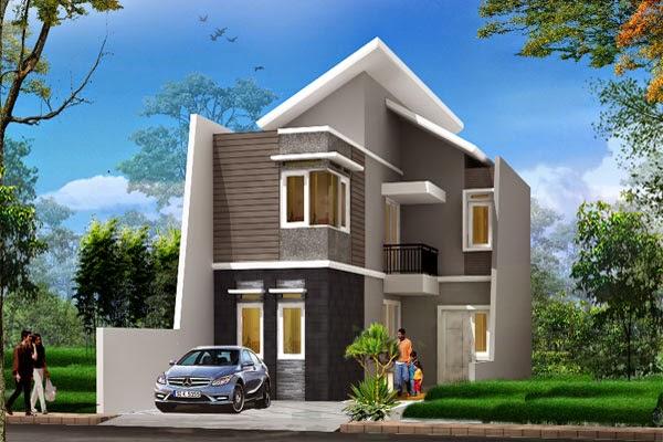 jasa desain rumah, gambar perspektif, desain rumah murah