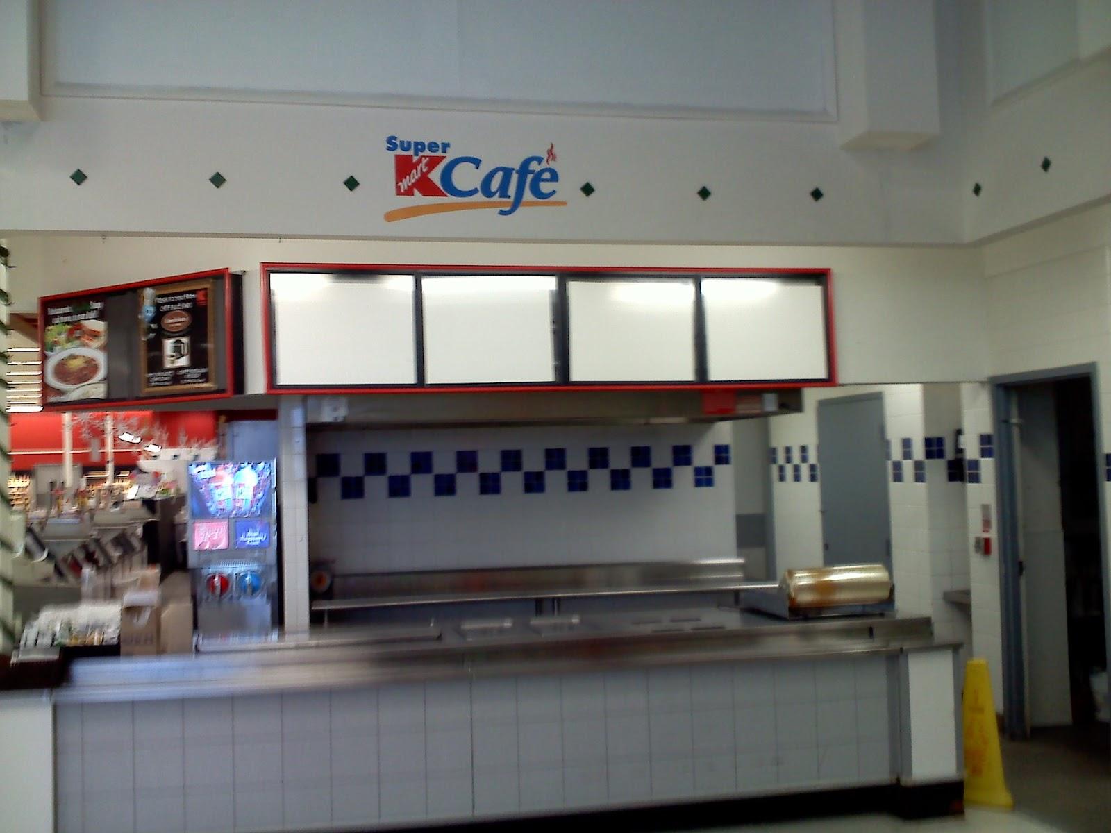 Old Super Kmart Cafe Interior