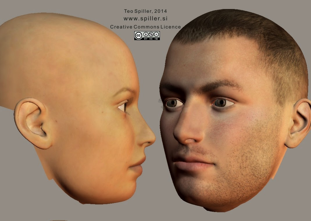 Curvy Jaw Face Shape (profile)
