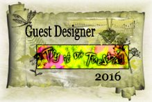 I am guest designing for Try it on Tuesday