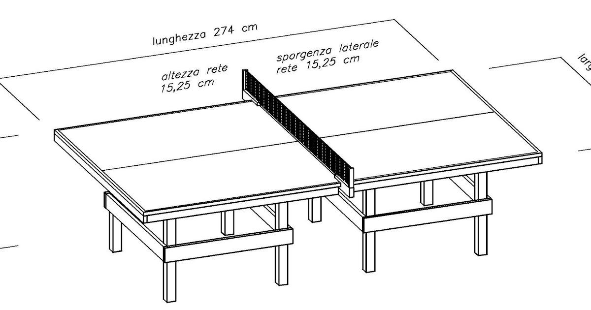 costruire facile come costruire un tavolo da ping pong