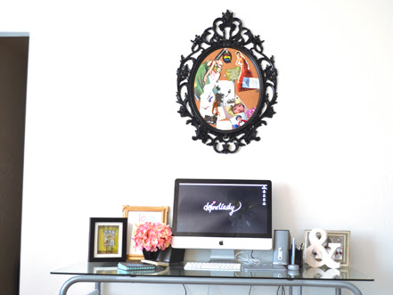 Creative Work Space: My New Home Office
