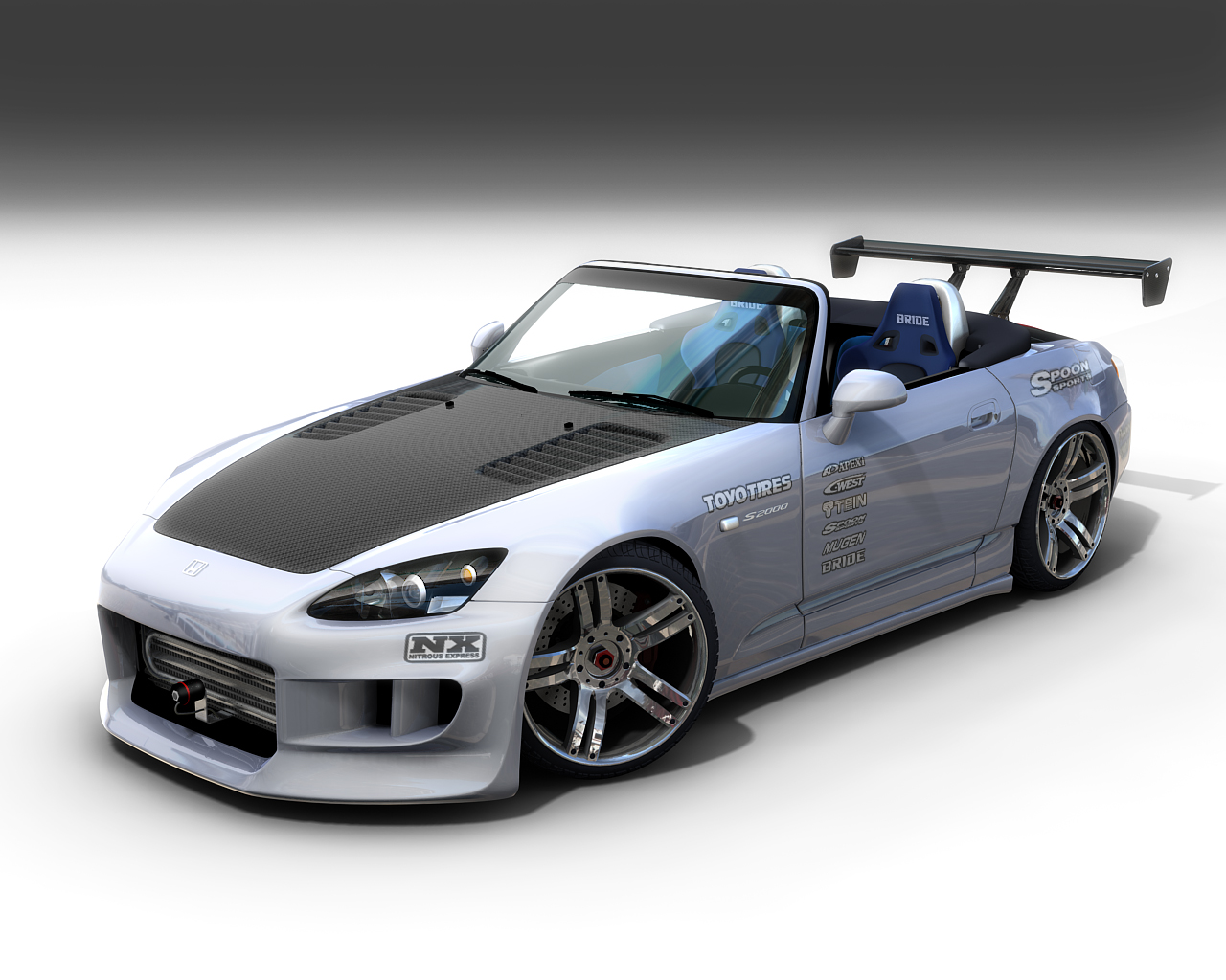 Modified S2000 >> custom car wallpapers | Cool Car Wallpapers
