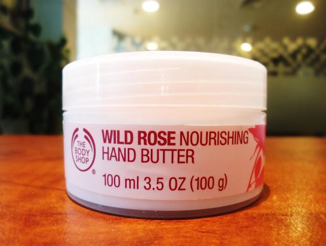 The Body Shop Wild Rose Nourishing Hand Butter
