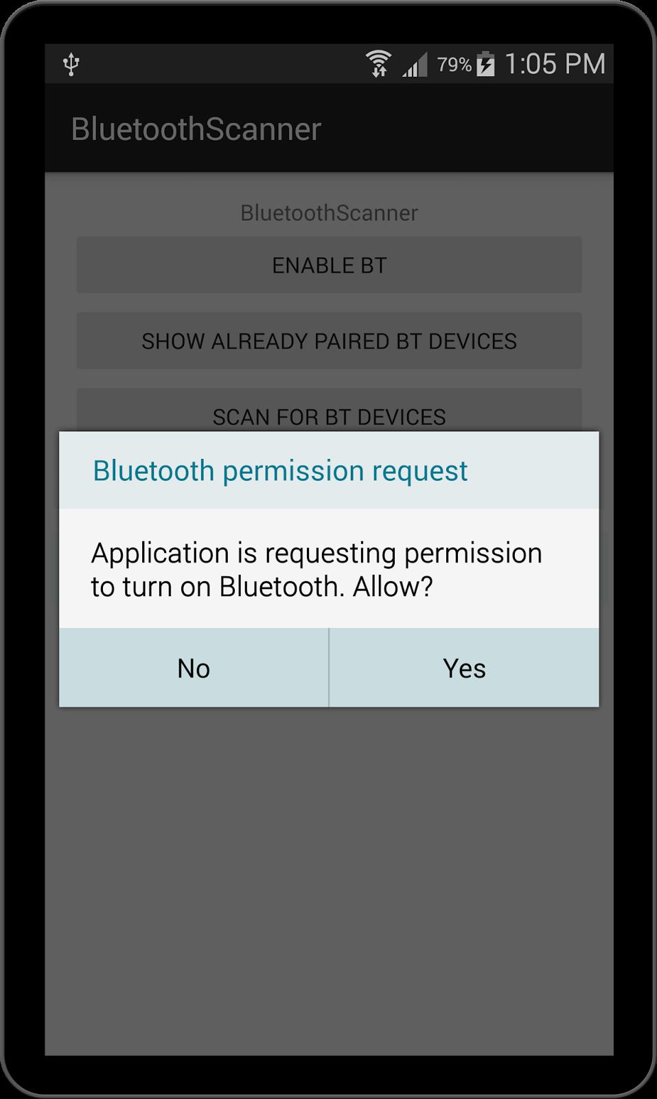 how to build a bluetooth app