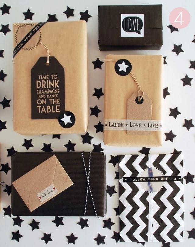 envolver regalos de navidad decorar diy craft