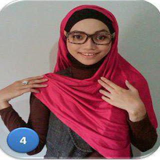 Kreasi Jilbab Pashmina Untuk Pergi Kekantor