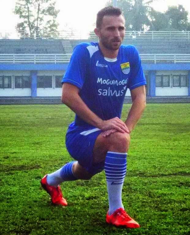Ilija Spasojevic pemain Persib