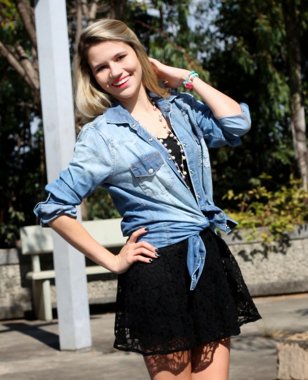 Blogueira Bárbara Olimpia - Ontop Jeans - Damyller