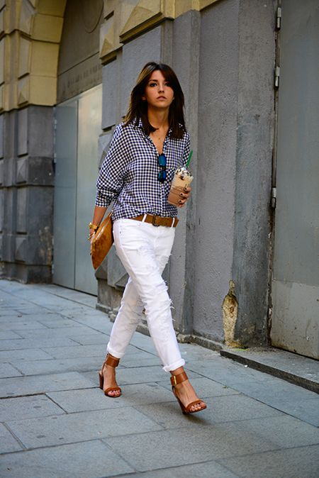 Makes you look better #White-Jeans