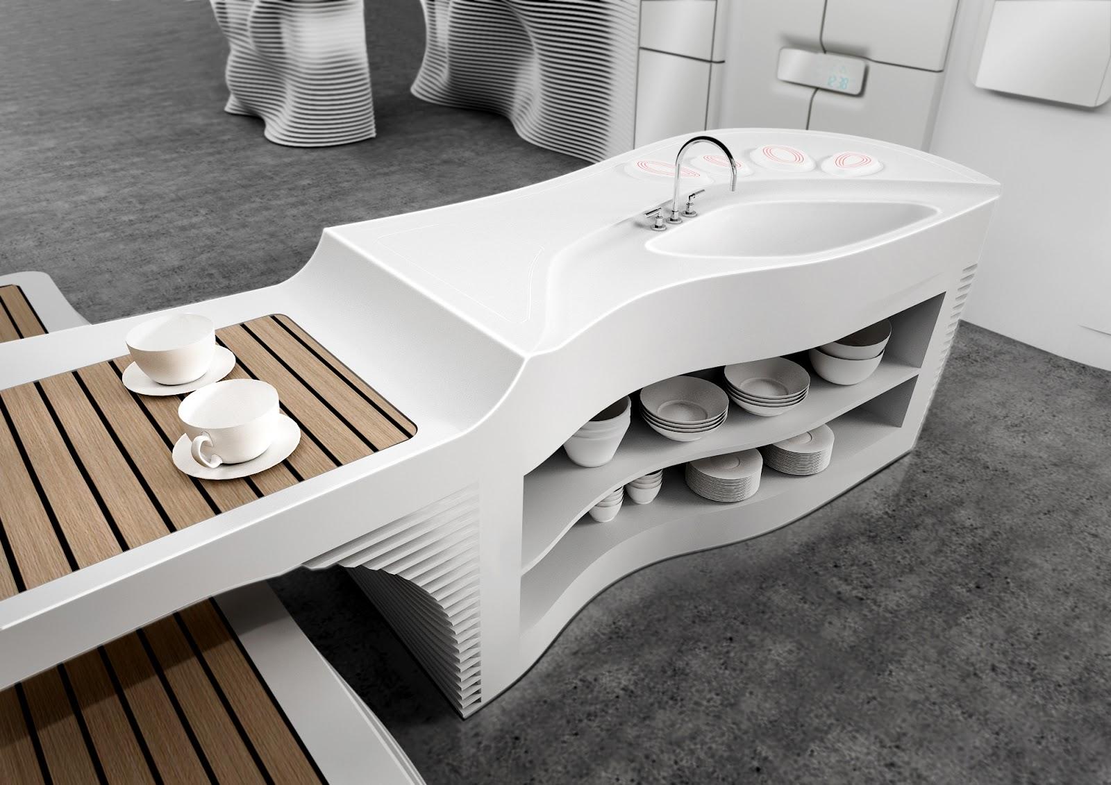 Una Encimera para la cocina HI-MACS - Kansei Cocinas | Servicio ...