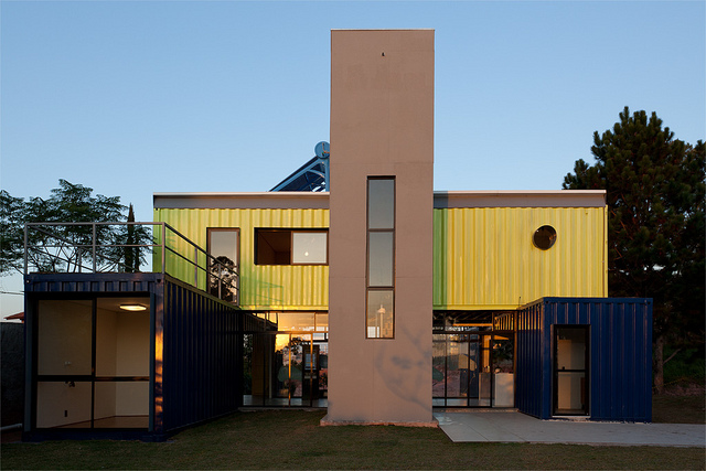 Shipping Container Homes Multi Container Home Casa