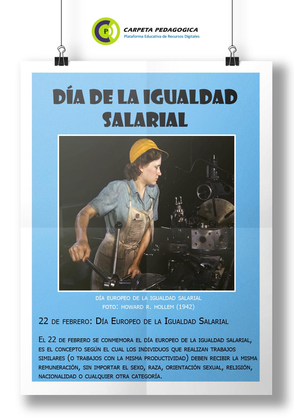 22 de febrero: Día Europeo de la Igualdad Salarial