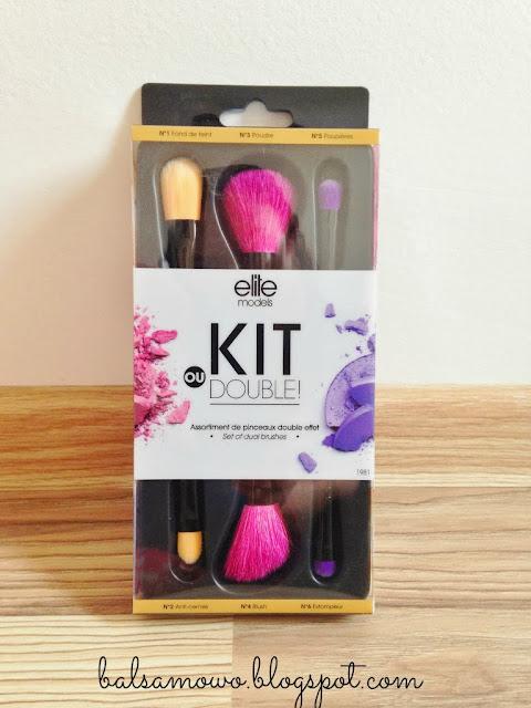 Elite Kit ou double Zestaw pędzli do makijażu