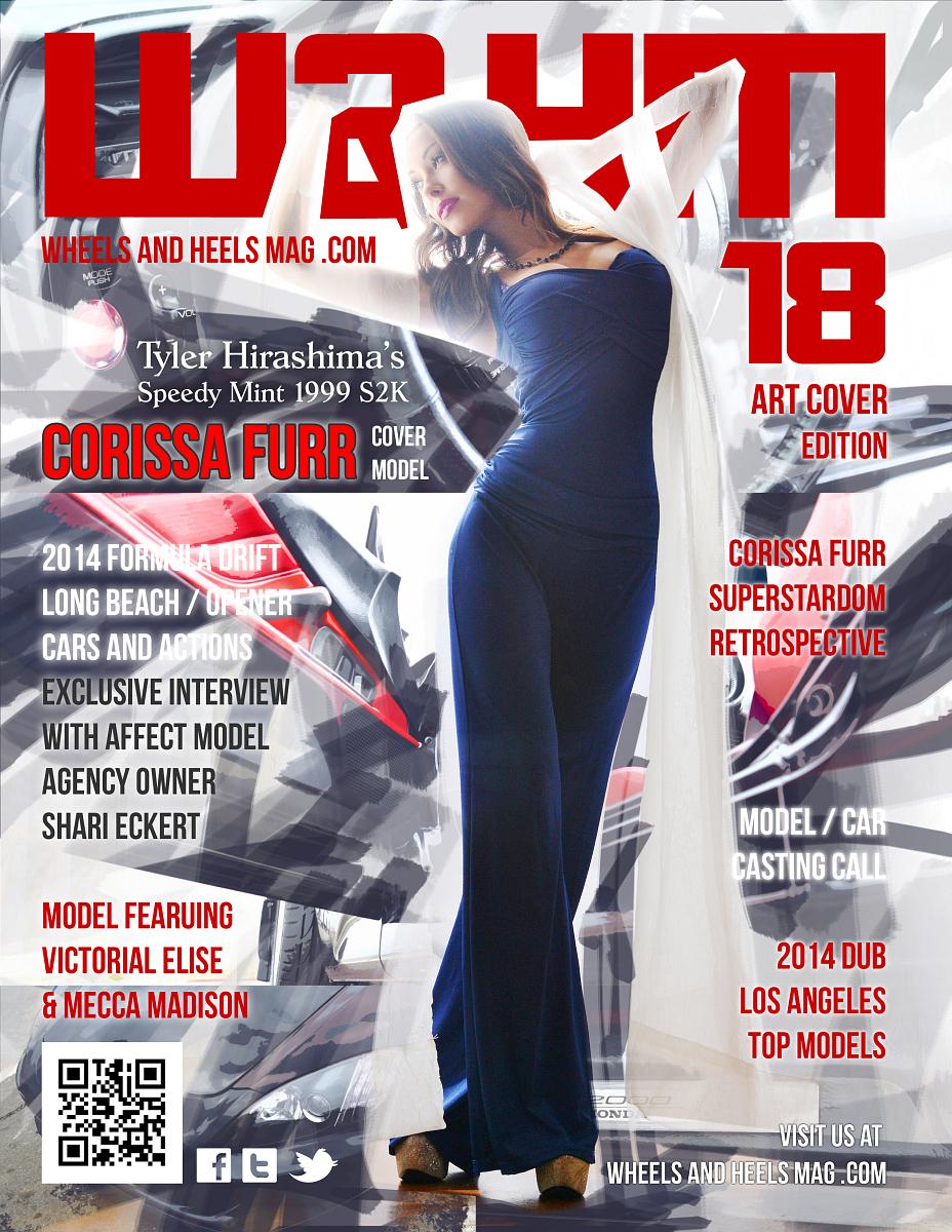 Wheels and Heels Magazine Issue 18 - Corissa Furr