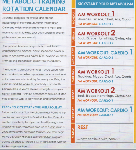 Jillian Michaels Body RevolutionJillian Michaels Body Revolution Workout Schedule Printable