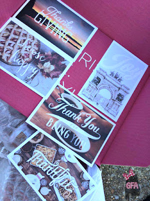 November 2015 the girl from alabama gramr gratitude exclusive thanksgiving postcard pack these are amazing and the box also includes a coupon code for 15 off a gramr subscription fandeluxe Gallery