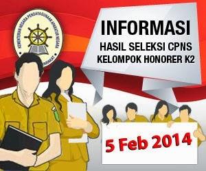 Download Daftar Kelulusan Hasil CPNS K2 www.menpan.go.id Seluruh Indonesia